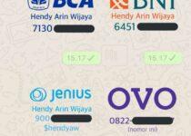 sticker rekening whatsapp